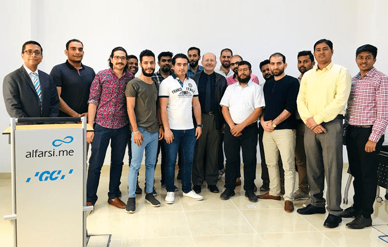 Alfarsi.me and GC Corporation Conducts Training for Dental Lab Technicians
