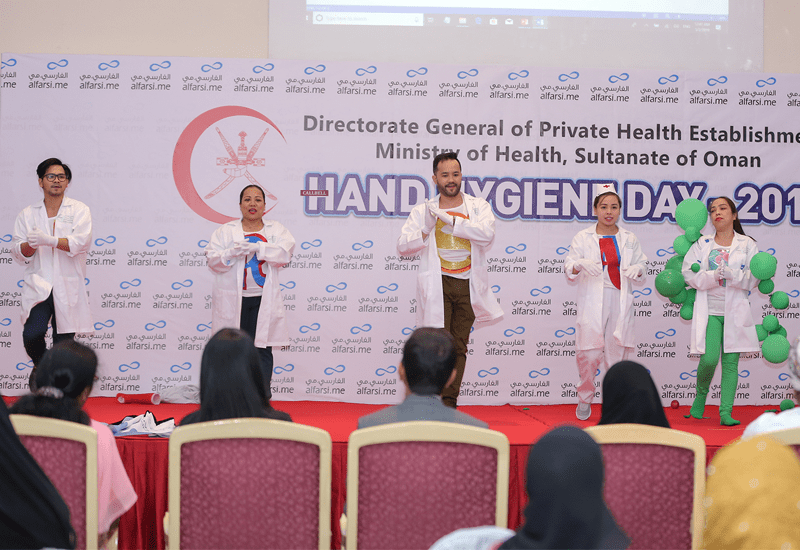 World Hand Hygiene Day Celebrations Conducted by MOH