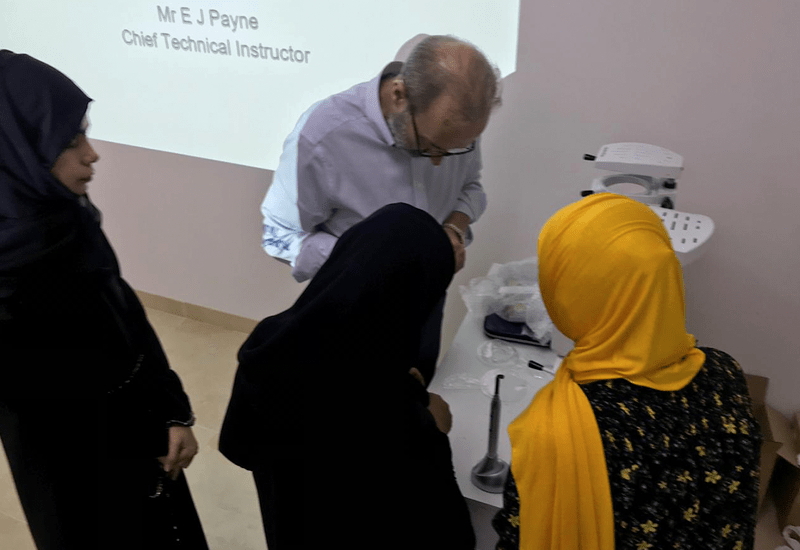 Participants included Oman's leading Orthodontists and Dental Laboratory Technicians